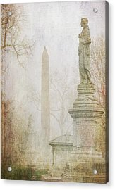 Acrylic Print featuring the photograph Monumental Fog by Heidi Hermes