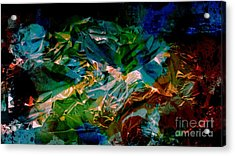 Mood Colors Acrylic Print by Marcia Lee Jones