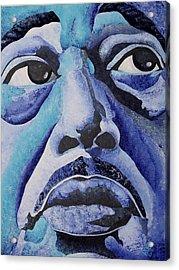 Mood Indigo Acrylic Print by William Roby