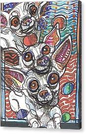 Moodswings Acrylic Print by Robert Wolverton Jr