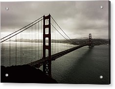 Moody Frisco Acrylic Print by Peter Irwindale