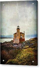 Moody Lighthouse Acrylic Print by Garry Gay
