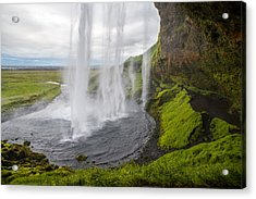 Moody Seljalandsfoss Acrylic Print