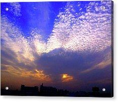 Moody Sky Acrylic Print