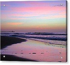 Moody Sunrise Acrylic Print