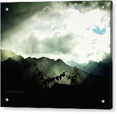 Moody Weather Acrylic Print by Mimulux patricia no No
