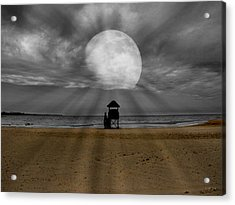Moon Beams Acrylic Print