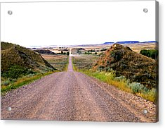 Moon Creek Heavy Traffic Acrylic Print by Aliceann Carlton