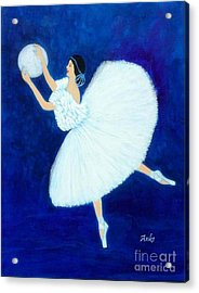 Moon Dancer Acrylic Print by Anke Wheeler