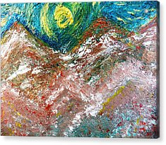 Moon Dream Acrylic Print by Amy Drago