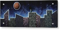 Moon Eclipse Acrylic Print