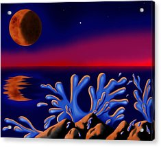Moon-glow II Acrylic Print