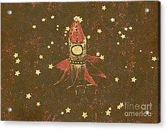 Moon Landings And Childhood Memories Acrylic Print