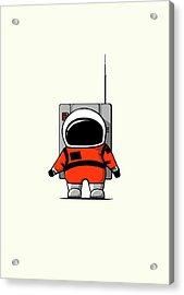 Moon Man Acrylic Print