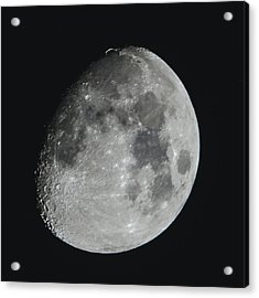 Moon On Day 12 Acrylic Print