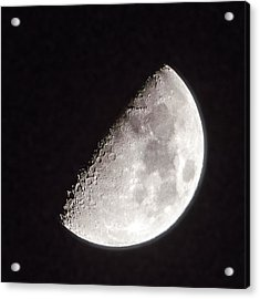 Moon On Day 7 Acrylic Print