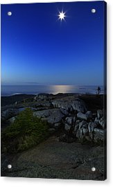 Moon Over Cadillac Acrylic Print
