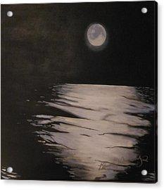 Moon Over The Wedge Acrylic Print