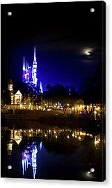 Moon Over Magic Acrylic Print