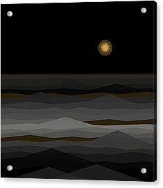 Moon Rise Abstract II Acrylic Print
