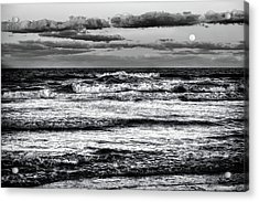 Acrylic Print featuring the photograph Moon Rising  by Louis Ferreira