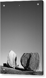 Moon Rocks Acrylic Print by John Gusky