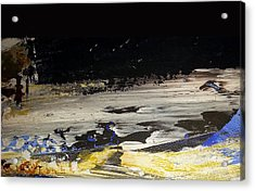 Moon-scape Acrylic Print by Jacqueline Marks