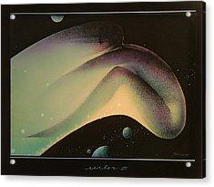 Moon Shot Acrylic Print by Gary Kaemmer