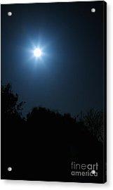 Moon Star Acrylic Print by Hideaki Sakurai