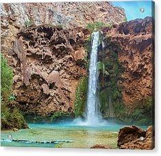 Mooney Falls Grand Canyon Acrylic Print
