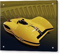 Mooneyes Streamliner Acrylic Print