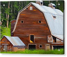 Mooney's Barn Acrylic Print