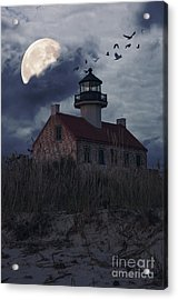 Moonlight At East Point Acrylic Print