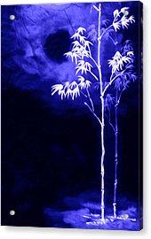 Moonlight Bamboo Acrylic Print