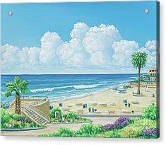 Moonlight Beach Acrylic Print