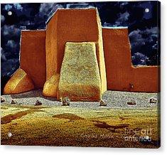 Moonlight In Ranchos Acrylic Print