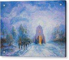 Moonlight Mass Acrylic Print