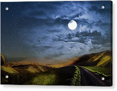 Moonlight Path Acrylic Print