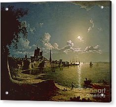 Moonlight Scene Acrylic Print by Sebastian Pether