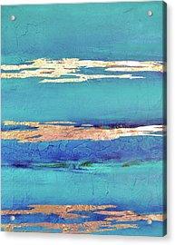 Moonlight Sea Acrylic Print by Filomena Booth