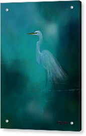 Moonlight Serenade Acrylic Print by Marvin Spates