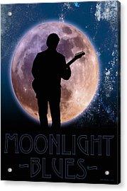 Moonlight Serenade Acrylic Print by WB Johnston