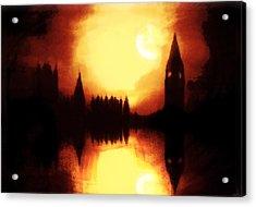 Acrylic Print featuring the digital art Moonlight-sonata  by Fine Art By Andrew David