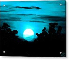 Moonlight Sonata  Acrylic Print by Bruce Nutting