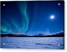 Moonlight Sonata Acrylic Print by Tor-Ivar Naess