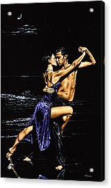 Moonlight Tango Acrylic Print by Richard Young