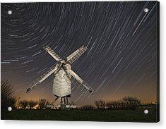 Moonlit Chillenden Windmill Acrylic Print