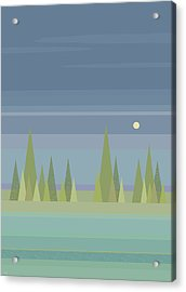 Moonlit Dreams Acrylic Print