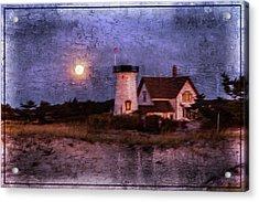 Moonlit Harbor Acrylic Print by Patrice Zinck