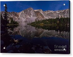 Moonlit Reflections  Acrylic Print by Steven Reed